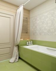 Ванная комната на первом этаже