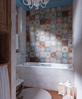 Ванна комната.